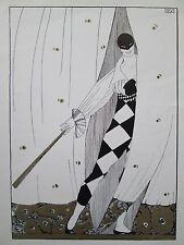VINTAGE ART PRINT MONTENEGRO NIJINSKY BALLETS RUSSES 4