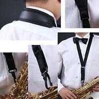 Saxophone Neck Strap Soft Sax Padded for Alto Tenor Baritone Soprano SS3