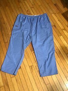 Cherokee Workwear Regular Blue Nurse Scrub Pants Sz 5X