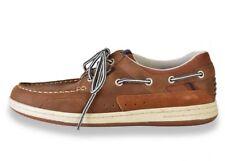 Chaussures bateau TBS SHARKS homme marron cuir P 41 neuve + boite + facture