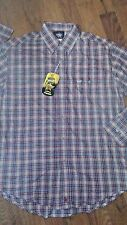 WRANGLER PBR Mens Western Rodeo Shirt M $40 NEW NWT OFFICIAL LICENSED PRODUCT!!!