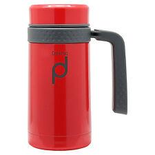 Pioneer Drinkpod Travel Mug Leakproof Flask with Handle, 0.45L, Red