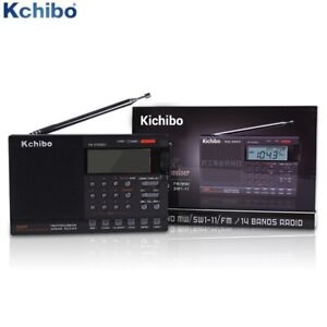 Portable Digital AIR Band 118-136mhz Radio AM/FM/SW/MW Alarm +Scanning Directory