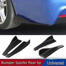48cm Universal Car Body Side Skirt Rocker Splitters Shovel Anti-Scratch Winglet