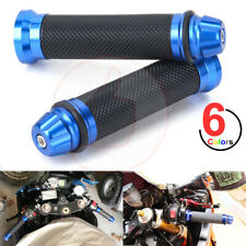 "Pair 7/8"" Motorcycle Custom Handlebar Hand Grips Sport Bike Cafe Racer Dirt Bike"