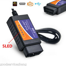 """ ELM-327 EML327 FT232RL Chip OBD 2 V1.5 Auto Scanner Automotivo Car Diagnostic"