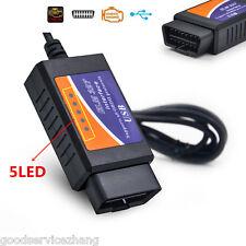 """"""" ELM-327 EML327 FT232RL Chip OBD 2 V1.5 Auto Scanner Automotivo Car Diagnostic"""