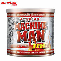 Machine Man Burner 120 Capsules Fat Burner Weight Loss Slimming Thermogenic