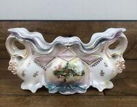 Vintage IPF Germany Antique Porcelain Victorian Vase
