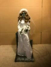 Disney Big Fig Figure Statue Haunted Mansion Attic Bride + Box