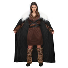 I Love Fancy Dress ILFD4580S Adult Mens Viking Medieval Costume Brown Small
