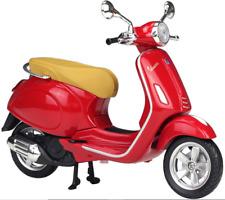 MAISTO 1:12 Vespa Primavera 150 Red MOTORCYCLE BIKE DIECAST MODEL TOY NEW IN BOX
