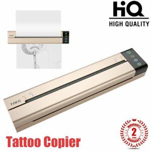 TOEC Tattoo Printer Thermal Stencil Paper Copier WIFI Android Iphone PC Ready CE