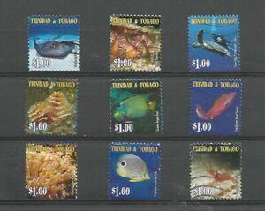 """Trinidad and Tobago 2005 """"Coastal Dreamscape"""" booklet, used short set. SG1043-52"""