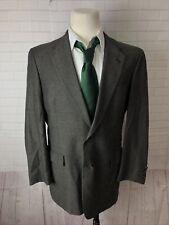 Hart Schaffner Marx Men's Gray Blazer Textures Blazer 44L $1,085