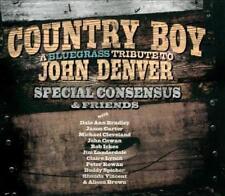 THE SPECIAL CONSENSUS - COUNTRY BOY: A BLUEGRASS TRIBUTE TO JOHN DENVER [DIGIPAK
