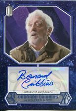 Doctor Who 2015 [Blue][##/50] Autograph Card Bernard Cribbins - Wilfred Mott