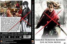 SAMURAI RUROUNI KENSHIN Live Action Movie DVD Ship from USA