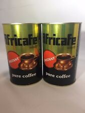 Africafe Instant Coffee Large Tin 2 PACK--- 250 Grams---NEW STOCK!