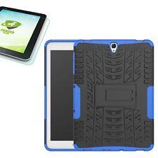 Hibrido Exteriores Funda Azul para Samsung Galaxy Tab S3 9.7 T820+0,4