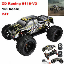 ZD Racing 9116-V3 1:8 4WD 100km/h Electric Monster Truck RC Car Frame KIT