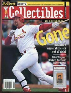 Beckett Sports Collectibles Magazine #86 June 1998 Mark McGwire Cardinals VG