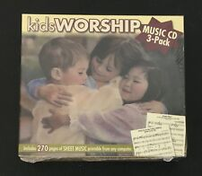 TWIN SISTERS  Kids Worship AUDIO CD 3 Disc Set NEW SEALED