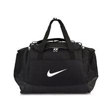 Nike Duffle Bag Club Team Black Backpacks Swoosh Gym Bags Sports BA5193-010 New