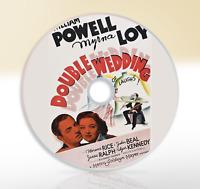 Double Wedding (1937) DVD Classic Comedy Movie / Film William Powell Myrna Loy
