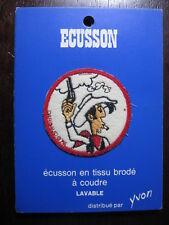 LUCKY LUKE ECUSSON VINTAGE DARGAUD 1972 5 MODELES AU CHOIX YVON CP