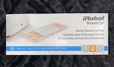 10x Wet Mopping Pads Clean Floor for iRobot Braava Jet Original Packaging Damage