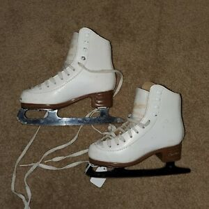 Jackson Mystique Figure Ice Skates child youth Size 12.