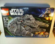 Lego Star Wars Millennium Falcon (7965) open box, bags unopened, unbuilt