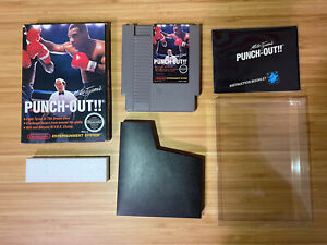 Mike Tyson's Punch Out 💎 NES Oval SoQ 💎 Complete in Box VERY NICE 💪🏾