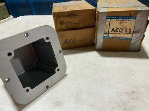 1x Crouse Hinds AEQ11  Condulet Conduit Fitting 30A Feraloy Casting, NOS
