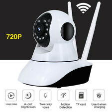Video Baby Monitor IP Camera Compatible With iPhone & Android. Wifi 2 way Speake