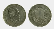 152) Vittorio Emanuele II Re d'Italia (1861-1878) - 5 Lire 1865 TORINO