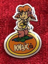 Knax Pin Sparkasse Mädchen 2 Stück,Vintage Anstecker, Erinnerungsstücke !