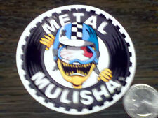 "METAL MULISHA 3"" Round CRASH Sticker Car Window Decal Riding Gear Nitro Circus"