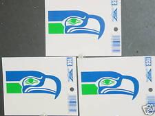 NFL Window Clings (3), Seattle Seahawks, NEW