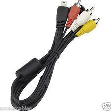Canon Stereo AV Cable AVC-DC400ST for PowerShot ELPH 300, 310, 320 HS Camera