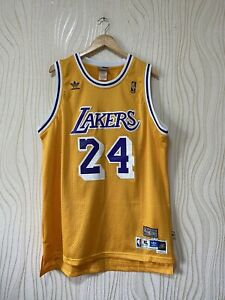 LOS ANGELES LAKERS BASKETBALL SHIRT JERSEY ADIDAS KOBE BRYANT # 24 HARDWAY CLASS