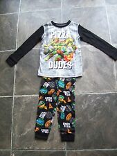 BNWT Boy's Teenage Mutant Ninja Turtles Cotton Knit Pyjamas Size 4