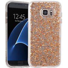 Genuine Case-Mate For Samsung Galaxy S7 Edge Slim Case - 24 Karat Rose Gold