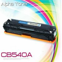 1PK Cyan Cartridge For HP CB541A 125A Color Toner LaserJet CM1312 CP1215 CP1518