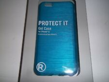 RadioShack 1711048 Protect It Blue Gel Case For iPhone 6