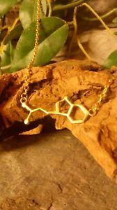 DMT Molecule DNA genetic structure pendant necklace