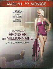 BLU RAY - COMMENT EPOUSER UN MILLIONNAIRE avec MARILYN MONROE / COMME NEUF