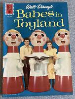 Vintage 1961 Walt Disney Babes In Toyland Dell Comic Book No. 1282 Excellent