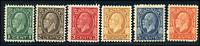 Canada #195-200 mint F/VF OG NH/DG 1932 King George V Medallion Issue Part Set